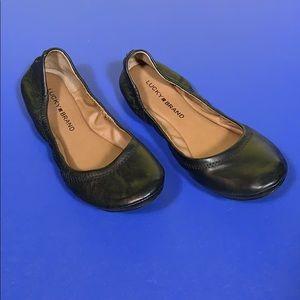 Lucky Brand Black Ballet Flats 7